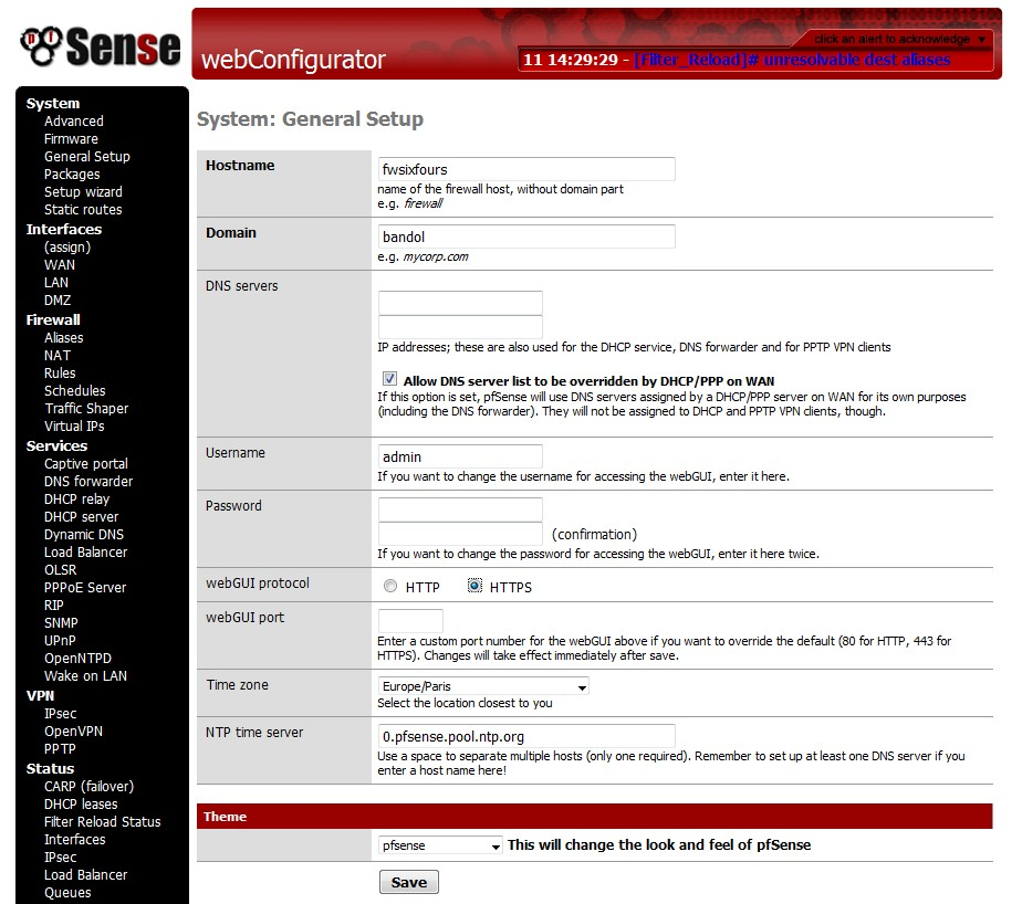 Paramétrage Pfsense Tunnel IPSEC site to site - vanexpert